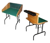 Double-sized Practice Table & Permanent Rail Combo